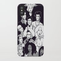 ahs iPhone & iPod Cases featuring AHS Hotel by Jaimie Hutton