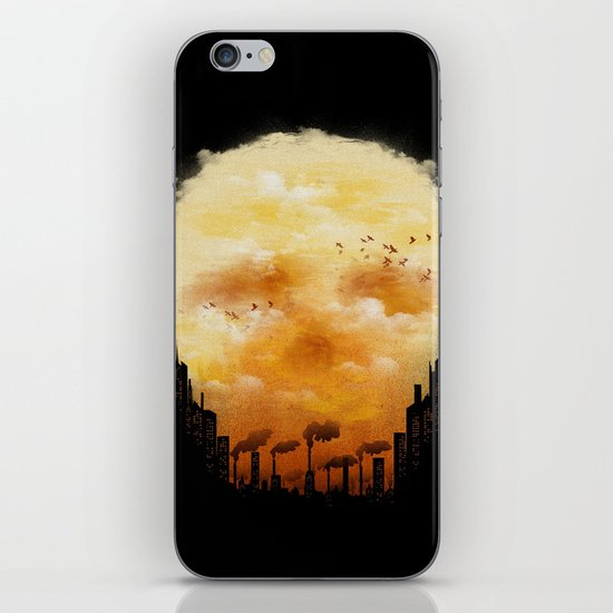 Polluted Promises iPhone & iPod Skin