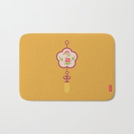 Chinese Antique - Lucky Knot Bath Mat