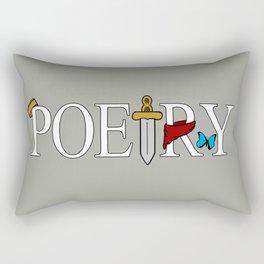 Merlin & Arthur - Poetry Rectangular Pillow
