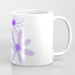 Life is A Garden in Purple Coffee Mug