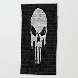 Wall Punisher Beach Towel