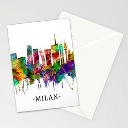 Milan Italy Skyline Stationery Cards
