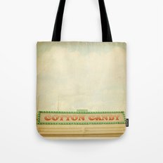 Cotton Candy Stand Tote Bag