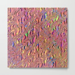 All Colors of the Rainbow Metal Print