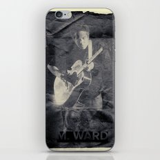 M. Ward iPhone & iPod Skin