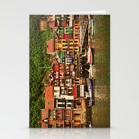 Little Fishing Village Stationery Cards