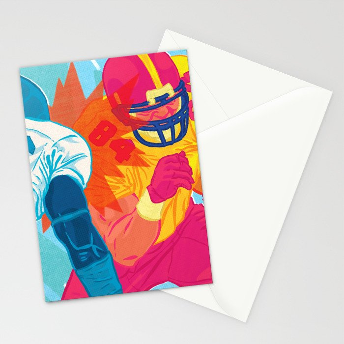 American Football Stationery Cards