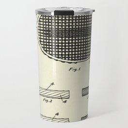 Metal Stringing for Tennis Racket-1925 Travel Mug