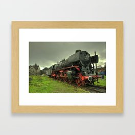 DB Pacific Framed Art Print