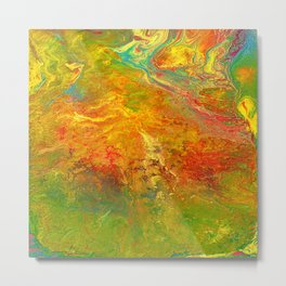 Color play Metal Print