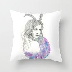 Zodiac - Capricorn Throw Pillow