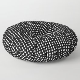 Dots (Shadowed) - White x Grey Floor Pillow