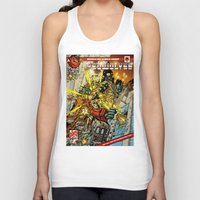 transformers Tank Tops featuring transformers by Haribow