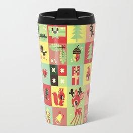 Christmas Geometric Pattern No. 2. Travel Mug