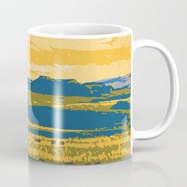 Grasslands National Park Poster Coffee Mug