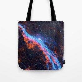 Nebula and stars Tote Bag