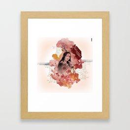 Shakespeare Ladies #2 Framed Art Print