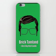 Brick Tamland: Weather iPhone & iPod Skin