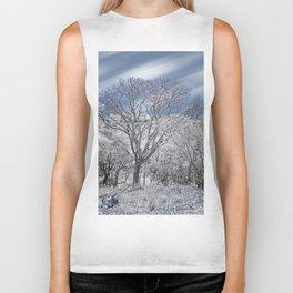 Winter Tree Biker Tank