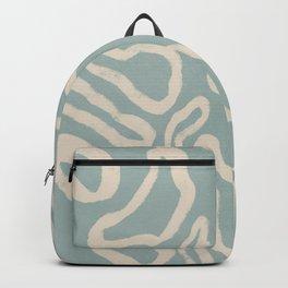 Organical shapes #443 Backpack