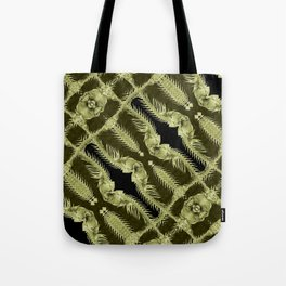 Exclusive Ornament Collage Artwork Tote Bag