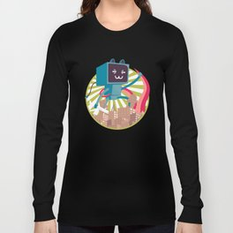 Go Go Mecha Kitty Long Sleeve T-shirt