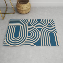 Abstraction_WAVE_GRAPHIC_VISUAL_ART_Minimalism_001 Rug