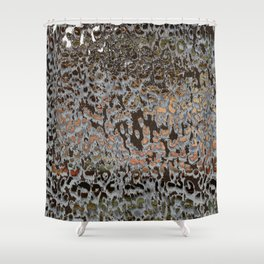 Leopard mix Shower Curtain