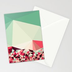 Poppy Field Tris Stationery Cards