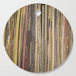 Records Cutting Board