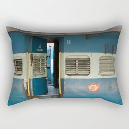 India railway print Rectangular Pillow