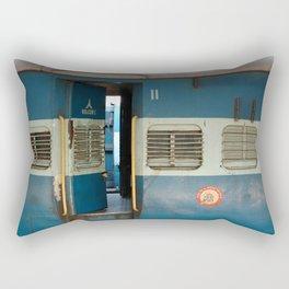 India railway print Rectangular Pillow