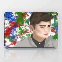 1d iPad Cases featuring Zayn 1D by Maranda Rae