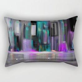 Cityscape by night Rectangular Pillow