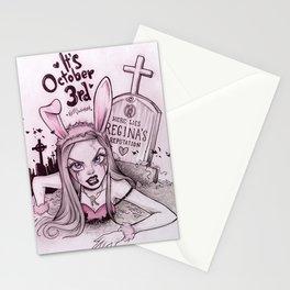 Regina's come back Stationery Cards