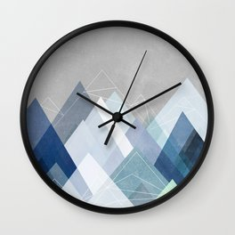 Graphic 107 X Blue Wall Clock
