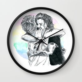 Larry Hug 2015 Wall Clock
