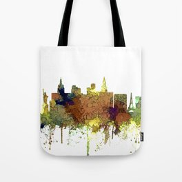 Las Vegas Skyline - Safari Buff Tote Bag
