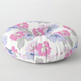 Pastel Peonies Floor Pillow