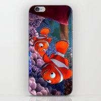 nemo iPhone & iPod Skins featuring Nemo by Max Jones