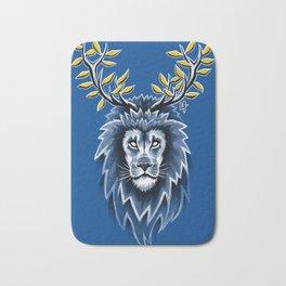 Deer Lion Bath Mat