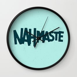 Nahmaste Wall Clock