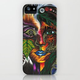 Medicine Woman iPhone Case