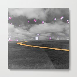 The Greatest Plains Metal Print