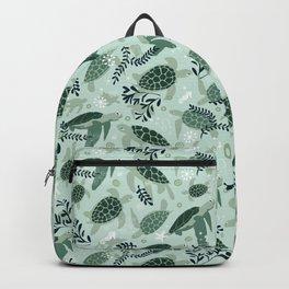 Endangered turtles Backpack