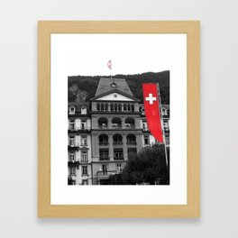 suisse Framed Art Print