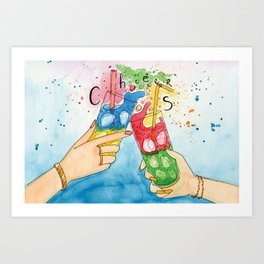 Time to Cheer Up! Art Print