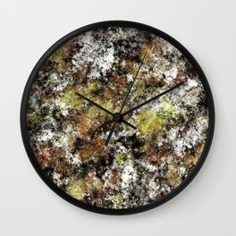 Chipping at the surface Wall Clock