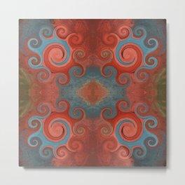 71 - Abstract swirls and twirls Metal Print